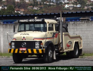 Reboque  Mercedes-Benz L1519