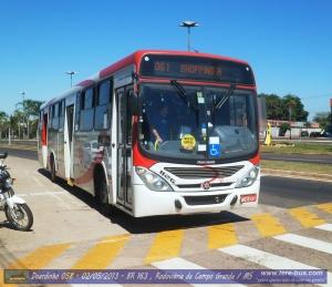 Viação Cidade Morena 1127 Linha 061 Terminal Moreninhas - Shopping A