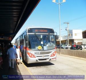 Jaguar Transporte Urbano 3011 Linha 076 (Aero Rancho - Hércules Maymone via Morenão )