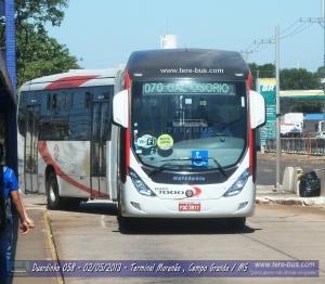 Auto Viação Floresta 7000 na linha 070 Terminal Bandeirantes x  Terminal General Osório via Terminal Morenão