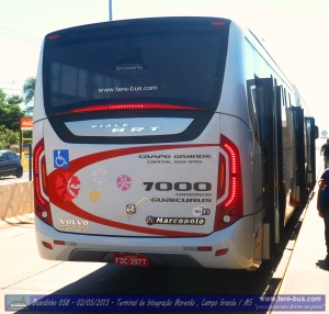 o moderno Viale BRT da Auto Viação Floresta