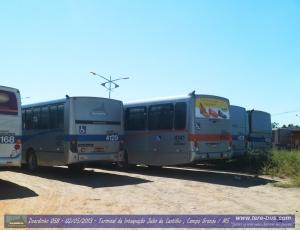 Viação Campo Grande 4141 sobressai com seus 13,2m de comprimento