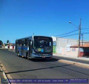 Viação Campo Grande Linha 406 Zé Pereira - Terminal J. Castilho