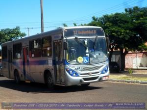 Viação Campo Grande 4154 Linha 413 B- Bairro Industrial x Term . Júlio de Castilho