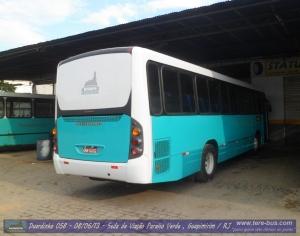 Primeiro ônibus urbano de motor traseiro da empresa
